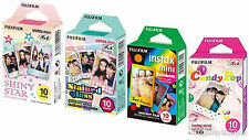 Fuji Instax Mini 8 Film Shiny Star - Stained Glass- Rainbow - Candy Pop Fujifilm