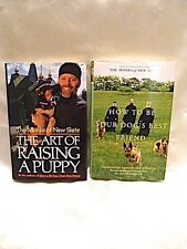 The Art of Raising a Puppy & How To BE Your Dog's Best Friend BOTH SIGNED