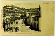 Cartolina Formato Piccolo - Firenze - Contorni S. Domenico E Panorama Di Fiesole