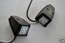 2x Front LED White Lights Cabin Roof Door Side Marker Lamps DAF MAN Scania Volvo
