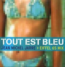 ☆ CD SINGLE Jean-Michel JARRE Tout est bleu 2-track CARD SLEEVE  RARE ☆
