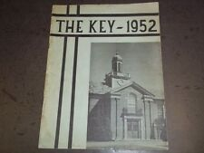 1952 THE KEY ALFRED VAIL JUNIOR HIGH SCHOOL YEARBOOK MORRIS NEW JERSEY - YB 622