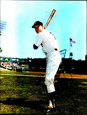 Mickey Mantle ~ NY Yankees ~8x10 Actual Photo~Free Top Loader~Not a Reprint HOF