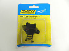 Retained Screw Type Nylon Drain Plug for Boats - Fits 1 Inch Diameter Hole 18641