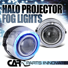 "4"" Round Projector Fog Bumper Lights w/ 7 Color Halo+Switch+Bulb"