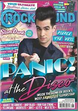Rock Sound June 2016 Panic at the Disco Slamdunk Stickers Poster Pierce The Veil