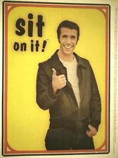 "SIT ON IT! HAPPY DAYS / FONZIE ""HENRY WINKLER"" 1970's VINTAGE ORIGINAL IRON-ON!"
