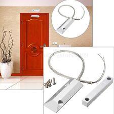 Zinc Alloy Alarm Magnetic Reed Switch Detector Sensor Roller Shutter Garage Door