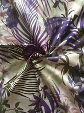 Hawaiian Palm Tree Flower Cotton Fabric, Clothing, Dressmaking