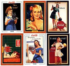 COCA COLA Lot de 6 Cartes NEUVES DIFFERENTES Lot N° COCA-K 022