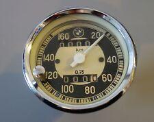 Tacho original BMW /VDO R50 R50/2 R60 R60/2 solo W=0,75 mit Tageskilometerzähler