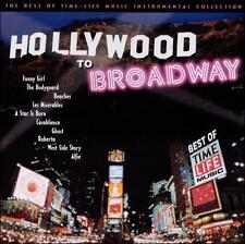 FREE US SH (int'l sh=$0-$3) NEW CD : Hollywood to Broadway (The Best of Time-Lif