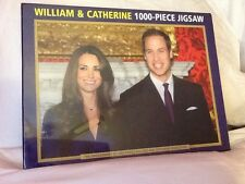 1000 PIECE JIGSAW PUZZLE THE ENGAGEMENT OF HRH PRINCE WILLIAM AND CATHERINE MIDD
