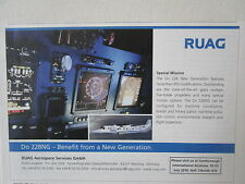 6/2010 PUB RUAG AEROSPACE AVIATION SUISSE DORNIER DO 228NG MARITIME PATROL AD