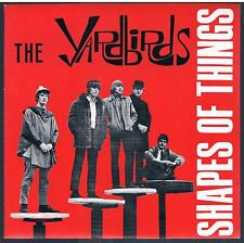 """THE YARDBIRDS SHAPES OF THINGS / YOU'RE A BETTER MAN THAN I 7"""" 45 GIRI"""
