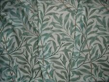 "WILLIAM MORRIS CURTAIN FABRIC ""Willow Bough's Major Voile"" 4 METRES GREEN"