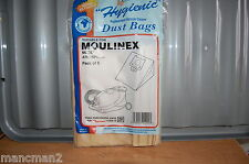 Qualtex Hygienic Vacuum Cleaner Bags 291 For  Moulinex Atmosphere