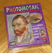 Van Gogh Portrait PHOTOMOSAICS 1000 Puzzle Robert Silvers Digital Artwork sealed