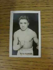 06/05/1922 Trade Card: Champion No 15: Sporting Champions - Pete Herman (Boxing)