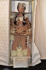 "Shining Star Indian by Rustie 34"" Inch Porcelain Doll HSN Weldon Museum"