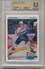 1990 Upper Deck Peter Bondra (Rookie Card) (#536) (10 Centering/3-9.5's) BGS9.5