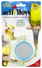 JW PET INSIGHT DOUBLE AXIS WITH MIRROR BIRD TOY PARAKEET COCKATIEL FREE SHIP USA