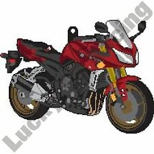 Yamaha FZ-1 Fazer 1000 rubber key ring motor bike cycle gift keyring chain FZ1