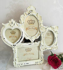 Shabby Chic Family Photo Frame Multi Picture Photos French Vintage Chic Wedding