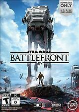 STAR WARS BATTLEFRONT DOWNLOAD VIDEO GAME FOR  PC  BRAND NEW FACTORY SEALED 2015