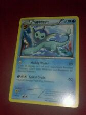 Vaporeon Near Mint Normal English Pokemon 25 Black & White Dark Explorers Card