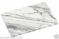 White Marble Kitchen Worktop Saver Cutting Slicing Large Hygenic Chopping Board