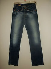 Red Engine Womens Blue Jeans Made In The USA sz 24