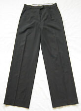 womens black MAX MARA wool mix trousers pants size UK 10