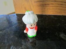 Fisher Price Little People Christmas Santa Mrs. Claus North Pole cottage house
