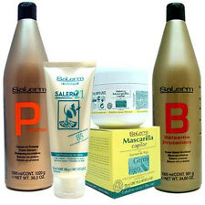 SALERM COMBINATION SET III Shampoo Conditioner Liter DUO Salerm 21 B5 & Wheat