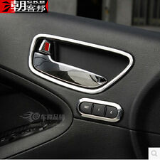 FIT FOR KIA FORTE CERATO K3 CHROME INSIDE DOOR HANDLE COVER BOWL TRIM MOULDING