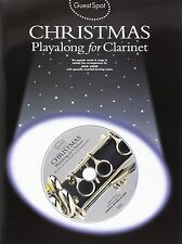 Guest Spot Christmas Playalong For Clarinet - Ten Carols & Songs With Backing CD