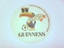 GUINNESS OFFICIAL BEER OF THE IRISH WORLD CUP TEAM     - Beermat / Coaster  -