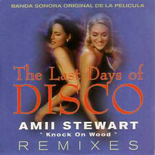 CD Single Amii STEWART Knock on wood REMIX CARD SLEEVE