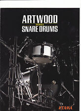 #MISC-0364 - 1986 TAMA ARTWOOD SNARE DRUMS  musical instrument catalog