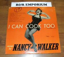 Nancy Walker - I Can Cook Too (1956 Dolphin Records DOLPHIN 2) Used Vinyl LP