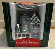Christmas In Vermont house Santas Best Hand Painted Illuminated c. 1994. 13M