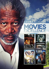4-Film Collection: Movies of Excellence (DVD, 2016)  Morgan Freeman  NEW Sealed