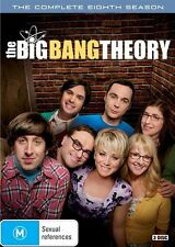 The Big Bang Theory : Season 8 (DVD, 2015, 3-Disc Set) R/4