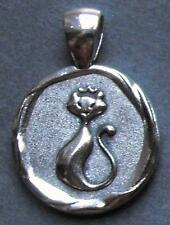 1966 50th birthday lucky Sixpence CAT charm Pendant present + gift box royal QE2