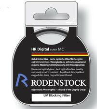 Rodenstock 408611 86mm Slim UV Brass Mount Super Multi-coated Black Label Filter