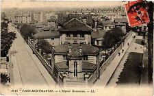 CPA Paris 18e Montmartre L'Hopital Bretonneau (284272)