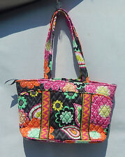 VERA BRADLEY Mandy Handbag  Purse in Ziggy Zinnia - NWT & From a Smoke Free Home