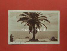 SAVONA poesia del mare barca vecchia cartolina *