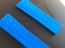 Breitling Twin Pro Rubber Strap 24-20mm 235S electric blue for B55 and B50